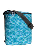 Patterned cool bag - Turquoise - Home All | H&M CN 1