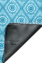 Patterned picnic blanket - Turquoise - Home All | H&M CN 3