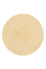 Paper straw table mat - Natural - Home All | H&M GB 1