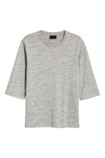 寬鬆T恤 - Grey marl - Men | H&M 2