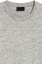 Wide T-shirt - Grey marl - Men | H&M CA 3
