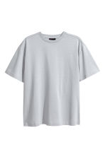 Cotton T-shirt - Light grey - Men | H&M CA 2