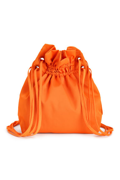 Twill backpack - Orange - Ladies | H&M 1
