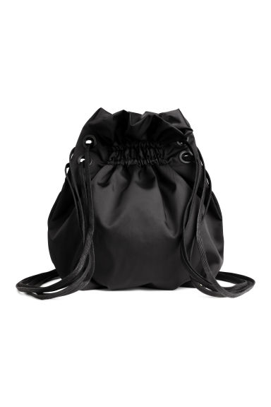 Twill backpack - Black - Ladies | H&M CN 1
