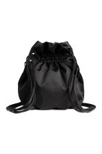 Twill backpack - Black - Ladies | H&M 1