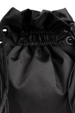 Twill backpack - Black - Ladies | H&M CN 3