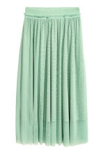 Tulle skirt - Mint green - Ladies | H&M GB 2