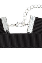 3-pack chokers - Black/Silver - Ladies | H&M 2