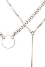 2-pack necklaces - Silver - Ladies | H&M CN 5