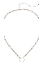 2-pack necklaces - Silver - Ladies | H&M 3