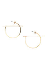 Creole earrings - Gold - Ladies | H&M CN 1