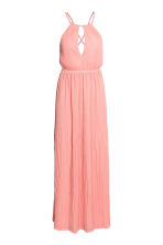 Long pleated dress - Light pink - Ladies | H&M CA 2