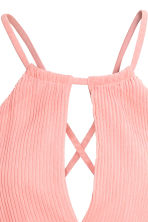 Long pleated dress - Light pink - Ladies | H&M 4