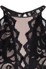 Short lace dress - Black - Ladies | H&M CN 4