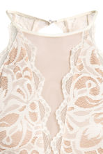 Short lace dress - Natural white - Ladies | H&M 3