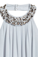 Chiffon dress - Light blue - Ladies | H&M 3