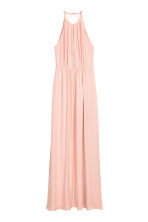 Maxi dress with lace details - Powder pink - Ladies | H&M 2