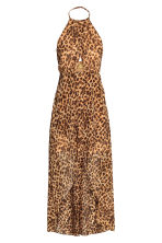 Long wrap dress - Leopard print - Ladies | H&M 2
