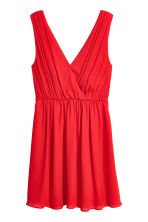 V-neck dress - Red - Ladies | H&M 2