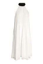 Pleated dress - Natural white - Ladies | H&M 2