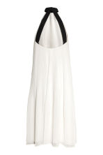 Pleated dress - Natural white - Ladies | H&M 3
