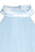 Pleated dress - Light blue - Ladies | H&M 3