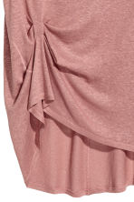 Draped top - Vintage pink - Ladies | H&M CN 2