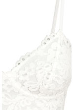 Bustier top - Natural white - Ladies | H&M 3