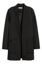 Long jacket - Black - Ladies | H&M CN 2