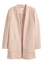 Long jacket - Powder pink -  | H&M 2