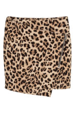 Textured skirt - Leopard print - Ladies | H&M 2
