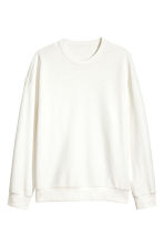 Sweatshirt - White - Men | H&M CN 2