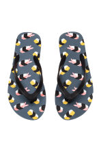 Flip-flops - Black/Sushi - Men | H&M 2