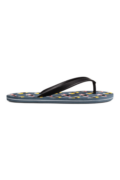 Flip-flops - Black/Sushi - Men | H&M 1
