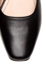 Leather mules - Black - Ladies | H&M 4