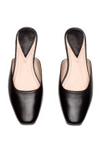 Leather mules - Black - Ladies | H&M 3