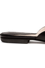 Leather mules - Black - Ladies | H&M 5