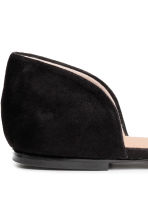 Open-sided flats - Black - Ladies | H&M CN 4