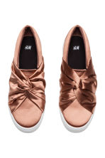 Knot-detail trainers - Rust - Ladies | H&M 3