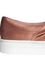 Knot-detail trainers - Rust - Ladies | H&M 5