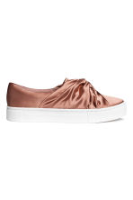 Knot-detail trainers - Rust - Ladies | H&M 2