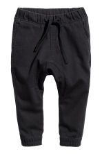 Pull-on trousers - Black -  | H&M CN 1
