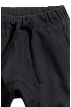 Pull-on trousers - Black -  | H&M CN 2