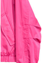 Reversible bomber jacket - Black/Cerise - Men | H&M 3