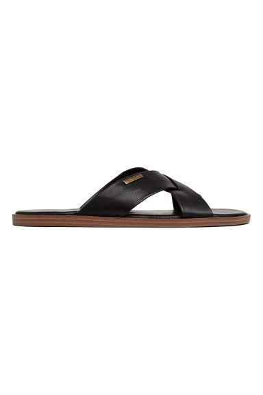 Slip-on mules - Black - Men | H&M 1