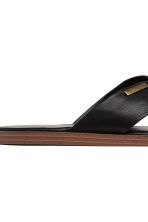 Slip-on mules - Black - Men | H&M 4