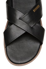 Slip-on mules - Black - Men | H&M 3