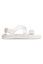 Sandals - White - Men | H&M CN 1