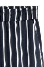 Culottes - Dark blue/Striped - Ladies | H&M 3