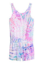 Jersey playsuit - Pink/Purple -  | H&M 2